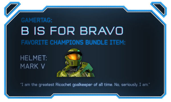 HB2013 n32-B-is-for-bravo objets favori du DLC Champions.jpg
