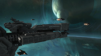 HR-UNSC Savannah escorted by Sabres.png